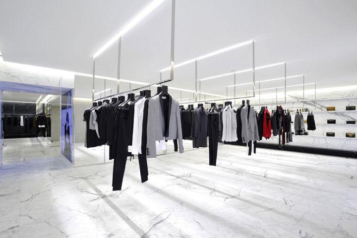 Saint Laurent flagship boutique Paris