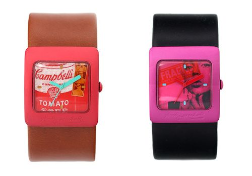 The one of the left please..: Andy Warhol, Warhol Watches