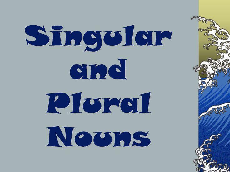 singular and plural nouns examples list - بحث Google