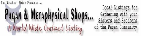INDEX: Local Pagan Shops