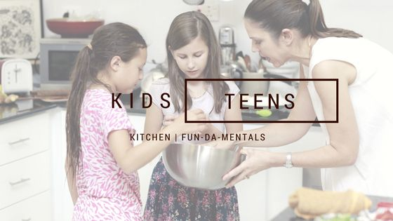 Kitchen FUN da MENTALS is a cooking program incorporating Vanessa's background in teaching and psychology with her passion for food. She engages, inspires and nutures kids of all ages in their own love of cooking