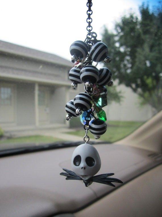 Nightmare Before Christmas Jack Skellington Charm.disney halloween #Halloween #skull www.loveitsomuch.com