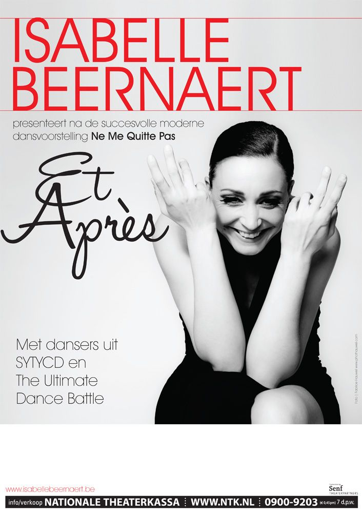 Great show by choreographer Isabelle Beernaert