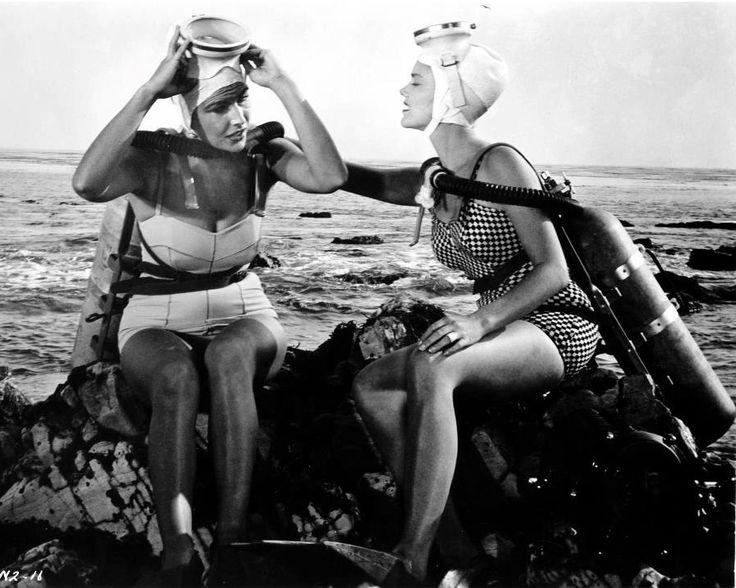 Amusing information underwater vintage woman