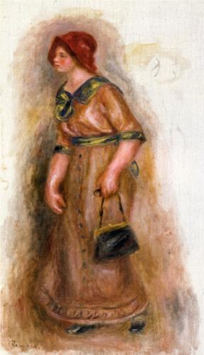 Woman with Bag - Pierre-Auguste Renoir ▓█▓▒░▒▓█▓▒░▒▓█▓▒░▒▓█▓ Gᴀʙʏ﹣Fᴇ́ᴇʀɪᴇ ﹕ Bɪᴊᴏᴜx ᴀ̀ ᴛʜᴇ̀ᴍᴇs ☞  http://www.alittlemarket.com/boutique/gaby_feerie-132444.html ▓█▓▒░▒▓█▓▒░▒▓█▓▒░▒▓█▓
