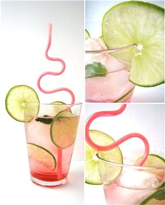 Fruit spritzers from Food Network | Refreshing Cold Drinks | Pinterest
