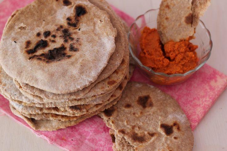 Volkoren Pita Broodjes Zelfgemaakt - De Bakparade