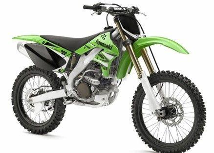 Kawasaki 250 dirt bike...
