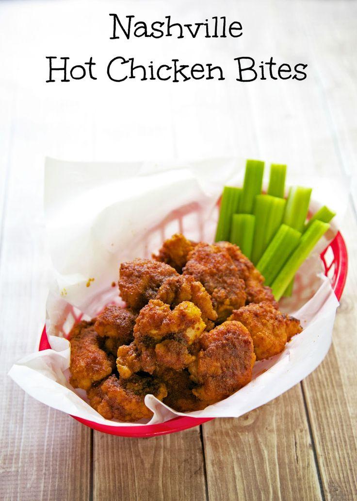 Nashville Hot Chicken Bites - spicy chicken bites!