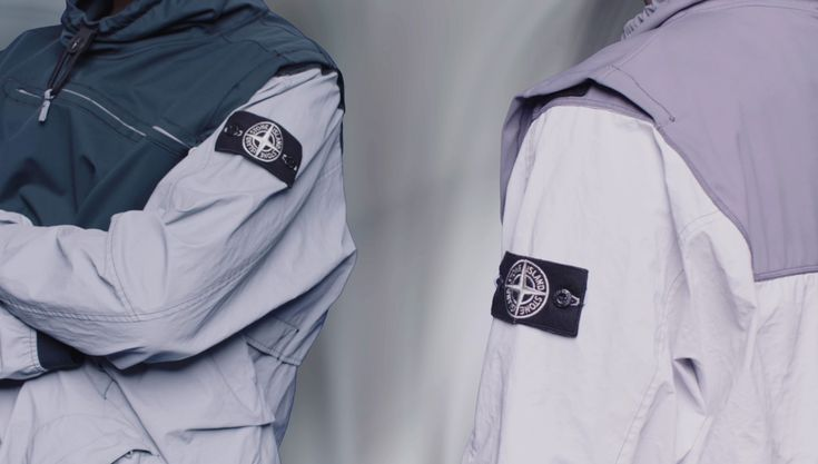 Stone Island SS'018_Garment Dyed Plated Reflective With NY Jersey-R on stoneisland.com
