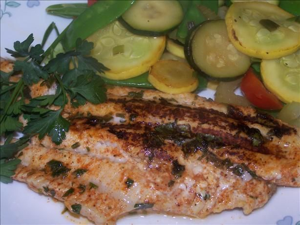Spicy Grilled Catfish - Honestly the only version of this I have tried is Cracker Barrel's which is so good, but any cajun-flavored grilled catfish is delicious.