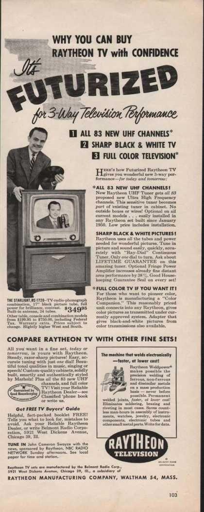 Raytheon Television Futurized (1951)