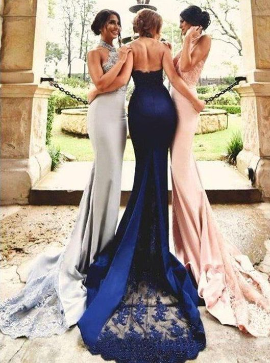 6284d11fb7e0 Nice 40+ Bridesmaid with Mermaid Dresses to Copy Ideas