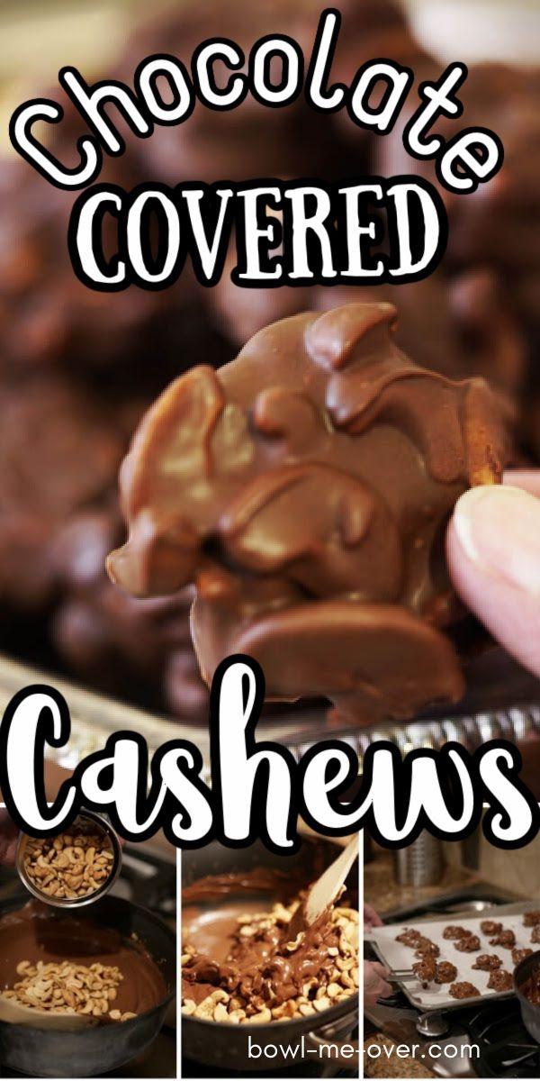 Easy Chocolate Covered Cashews Recipe Recipe Chocolate Covered Cashews Recipe Cashew Recipes Chocolate Covered Nuts Recipe