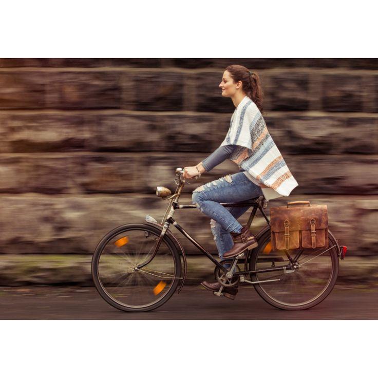 Marc Fahrradtasche aus Leder mit wasserfestem Innenfutter inklusive KLICKfix-Adapter-33