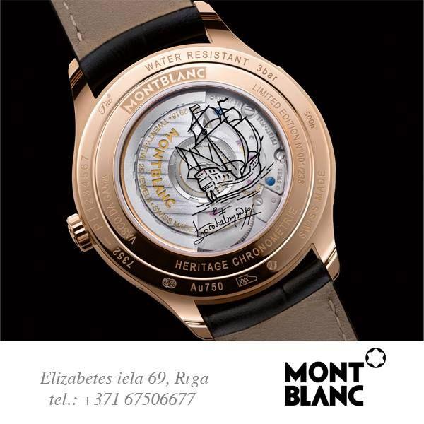 Montblanc prezentē Heritage Chronométrie Kolekciju  Montblanc представляет коллекцию Heritage Chronométrie