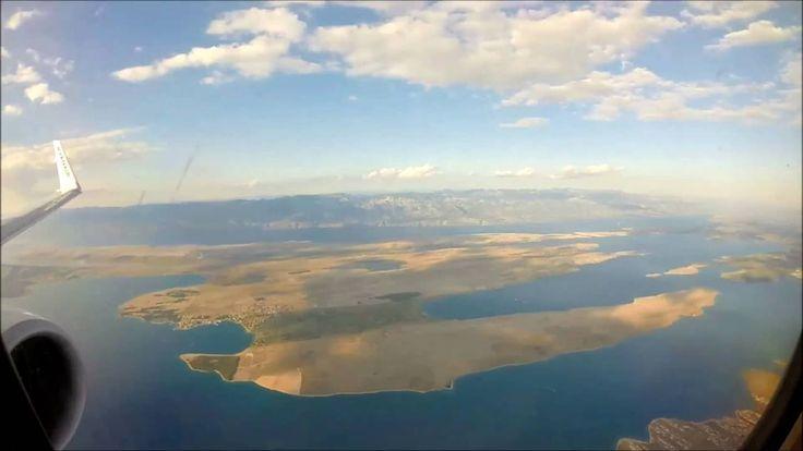 Landing in the beautiful city of Zadar, Croatia - GoPro Hero 3