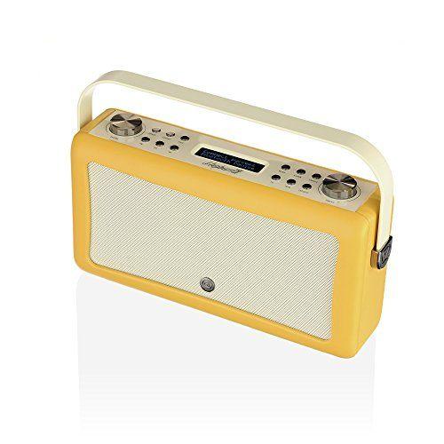 Radio DAB Plus VQ Hepburn Mk II et haut-parleur Bluetooth – Moutarde