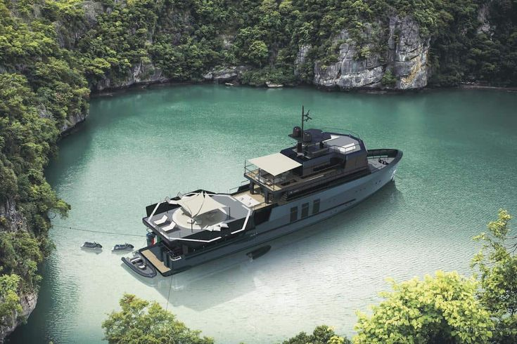 The new Baglietto 43m Explorer is a Fresh Take on Explorer Yachts