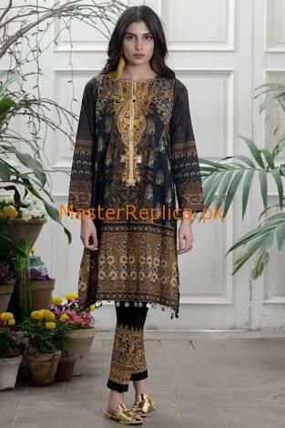 c8d9aaf671 Check Out Khaadi Latest Embroidered Lawn Eid Collection Replica 2018 at  Master Replica Pakistan Call/WhatsApp: +923322622227 #pakiclothing ...