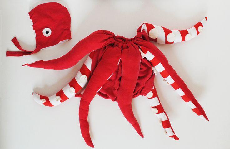 Mer Mag: DIY Baby Octopus Costume