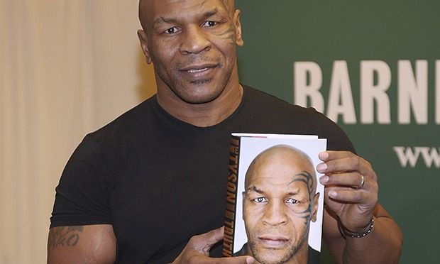 Mike Tyson and his autobiography