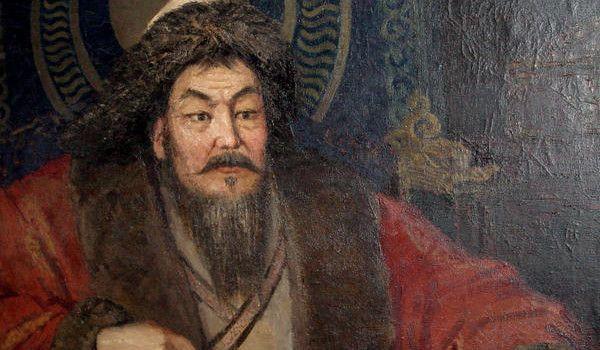 1227- Genghis Khan meurt des suites d'une chute à cheval lors d'une partie de chasse.
