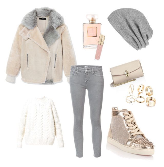 Winter Look ☃️❄️ by anna-schumilowa on Polyvore featuring Diesel, TIBI, Mother, Christian Louboutin, Dolce&Gabbana, White + Warren, Smith & Cult and Chanel
