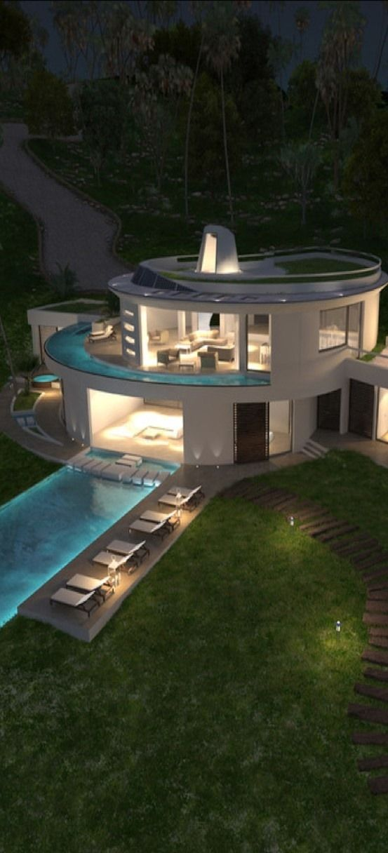 By MCM Designstudio outdoor pool modern architecture | jebiga | #outdoorpool #exteriordesign #jebiga
