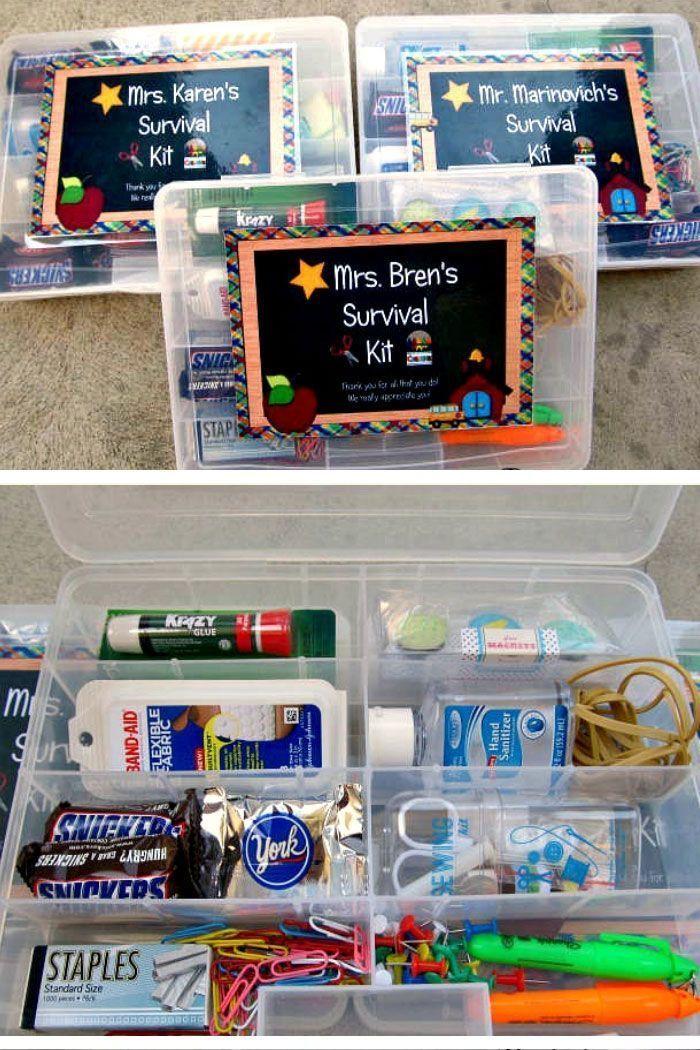 10 DIY Back To School Teachers Geschenkideen