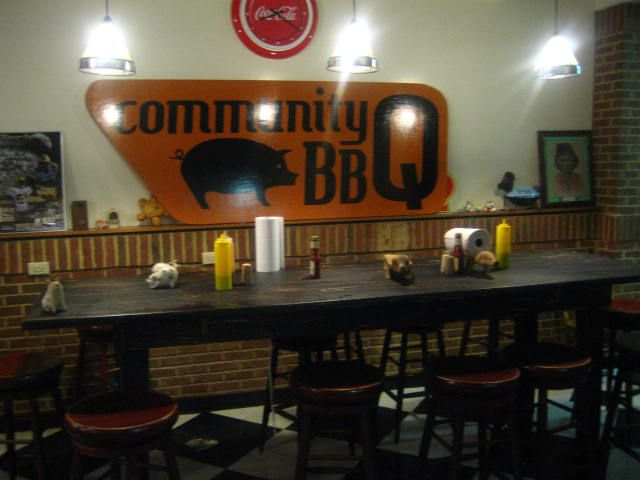 Community Q BBQ-  my favorite BBQ place in GA!!!