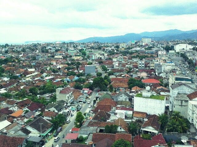 Scenenary of City of Lampung