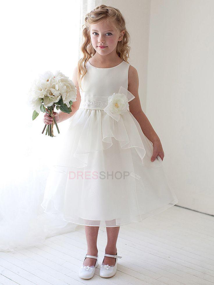 69 best pajecitas images on Pinterest | Flower girl dresses, Girls ...