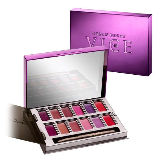 URBAN DECAY Vice Metal Meets Matte Lipstick Palette #UrbanDecay