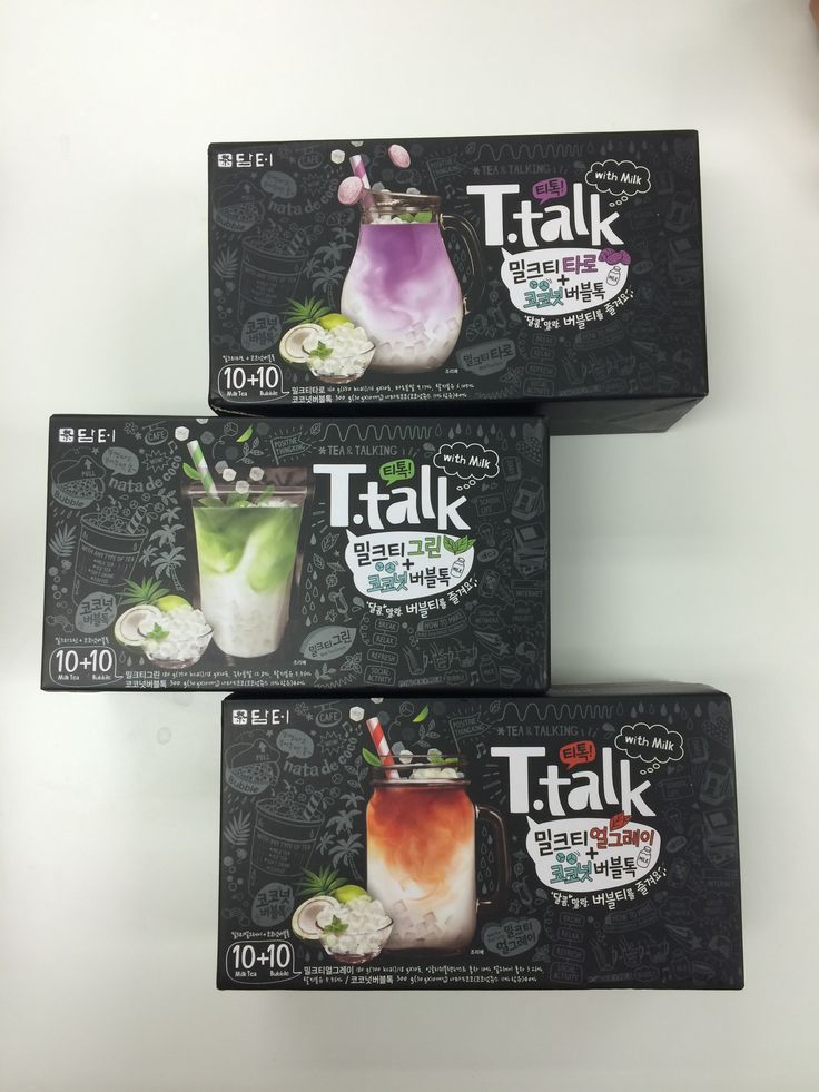 Welcome, T-Talk! Our new bubble tea drink in 3 flavors: Taro Tea, Matcha Green Tea, and Earl Grey Tea. Each package includes 10 tea sticks and 10 packs of coconut jelly. Contact us for more details!
