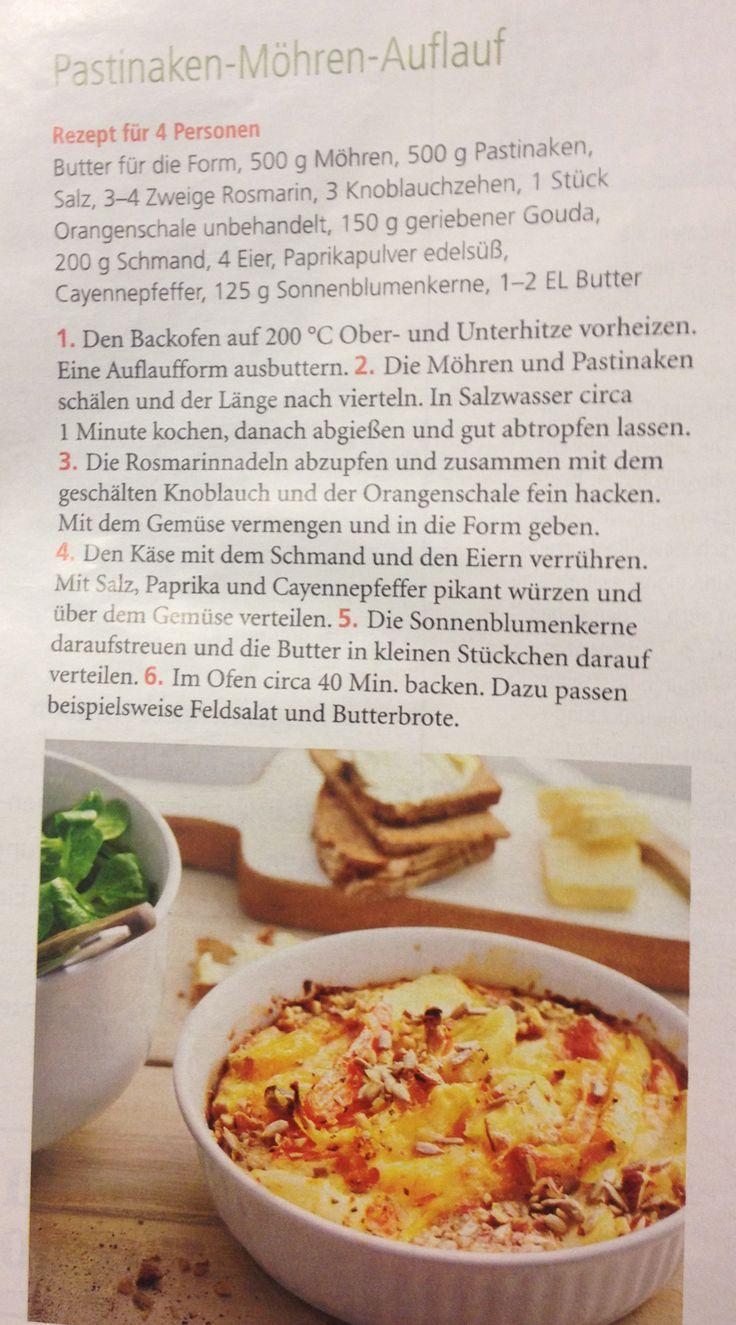 Fabulous Pastinaken M hren Auflauf aus der Zeitschrift Mein sch ner Garten