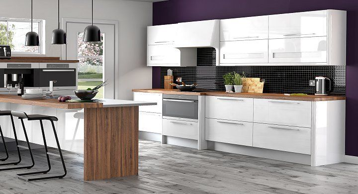 White Kitchen Unit Designs