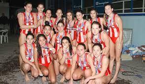 25/04/2015. Η γυναικεία ομάδα polo πρωταθλήτρια της Ευρώπης. Νίκησε στον τελικό την ομάδα της Sabadel 10-9.