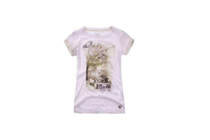 Maison Espin t_shirt ss13,#maisonespin #springsummercollection13 #womancollection #tshirt #lovely #MadewithLove #romanticstyle #milano
