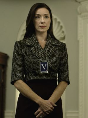 Outfit worn by Jackie Sharp in House of Cards!
