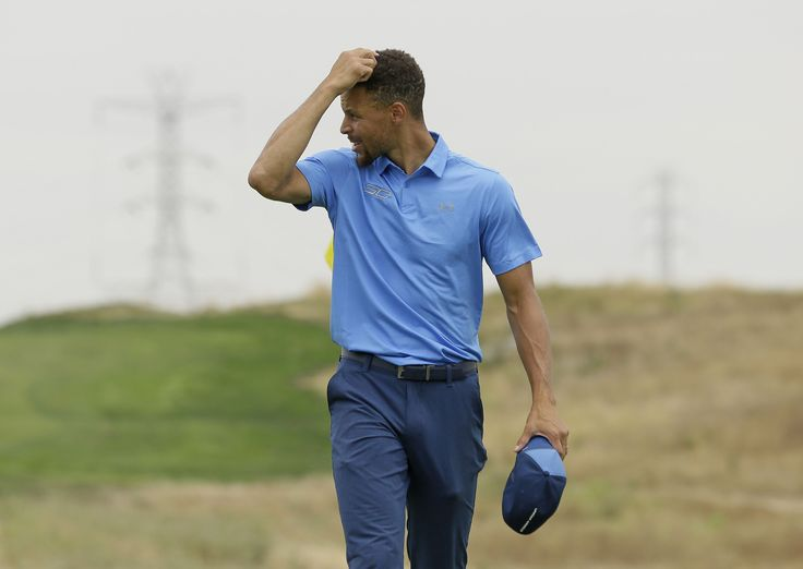 Stephen Curry missed the cut Friday night against professional golfers one notch below the PGA Tour.  ''That was awesome what he did yesterday,'' British Open champion Jordan Spieth said Friday at the Bridgestone Invitational.  One of the highlights for Curry in the opening round was