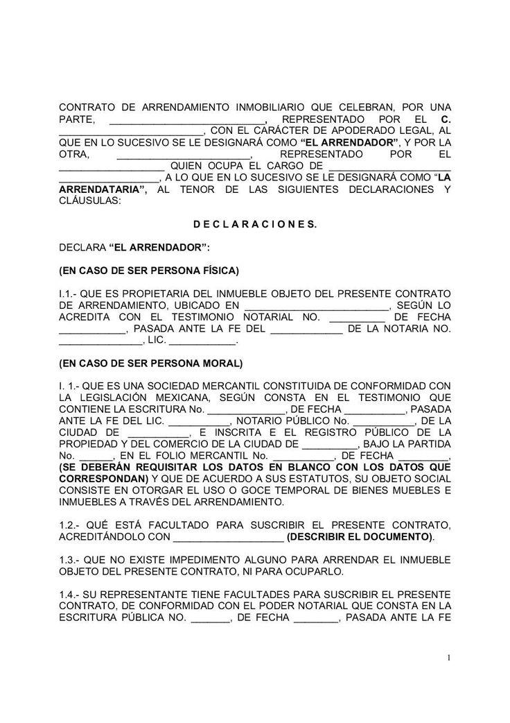 Contrato de arrendamiento inmobiliario que celebran, por una - issste https://www.yumpu.com/es/document/view/12701328/contrato-de-arrendamiento-inmobiliario-que-celebran-por-una-issste