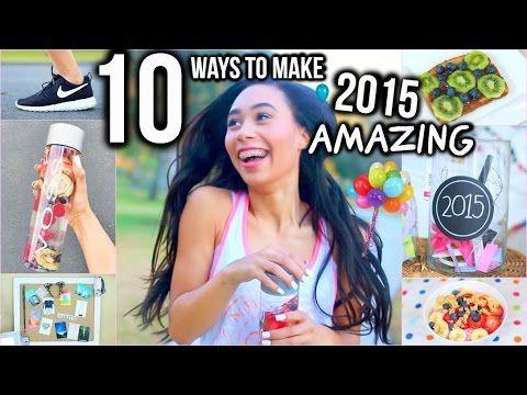 10 Ways To Make 2015 Your Year! -- Love the Bonsai Bowl Idea! (fro yo, strawberry, blueberries, honey, etc..)