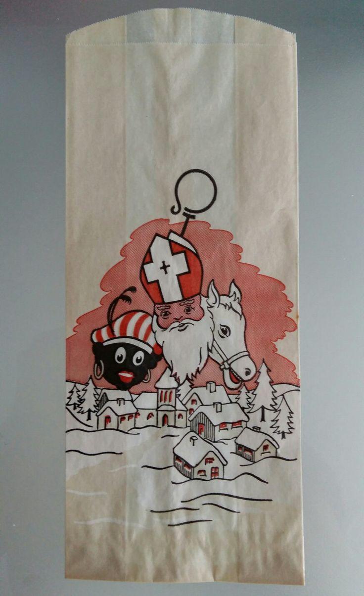 Speculaaszakje Sinterklaas