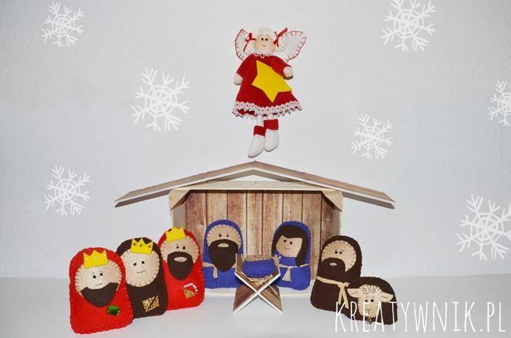 Felt Christmas Crib