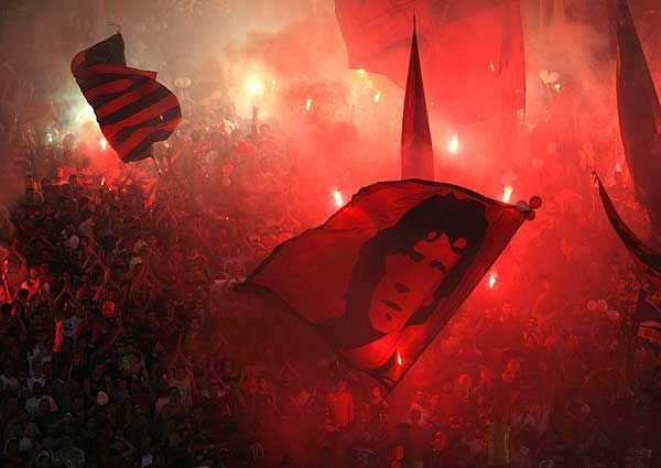 Flamengo at the Maracana - done it!
