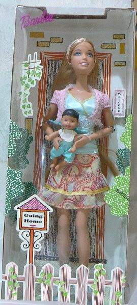 Adopt a Chinese baby!  Barbie did!!!