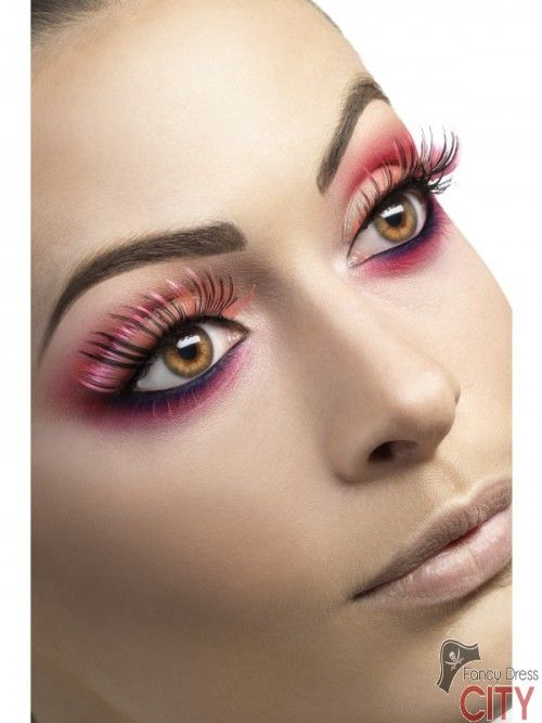 Eyelashes, Pink and Black