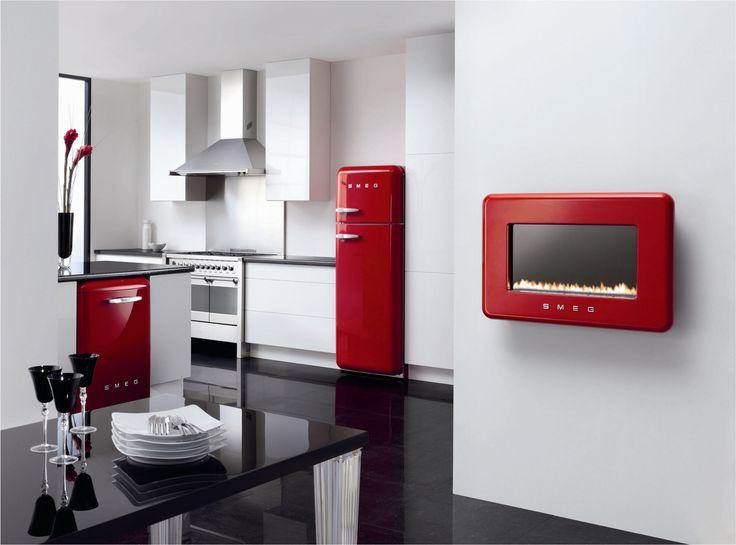 Smeg Kleiner Kühlschrank : Besten smeg tecnologia con estilo bilder auf