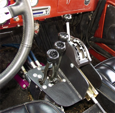 Cable Shifter For Atlas Transfer Case Classic Bronco